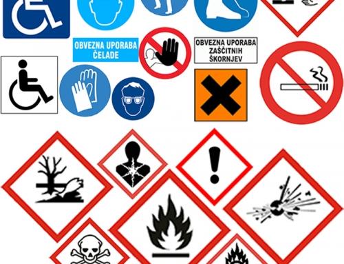 Opozorilne table – za večjo varnost